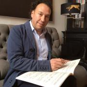 Adventskonzert Klavierlehrer Antwon Wildemann Portrai